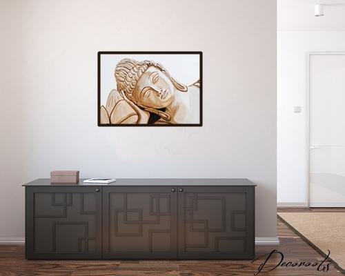 affiche poster cadre bouddha