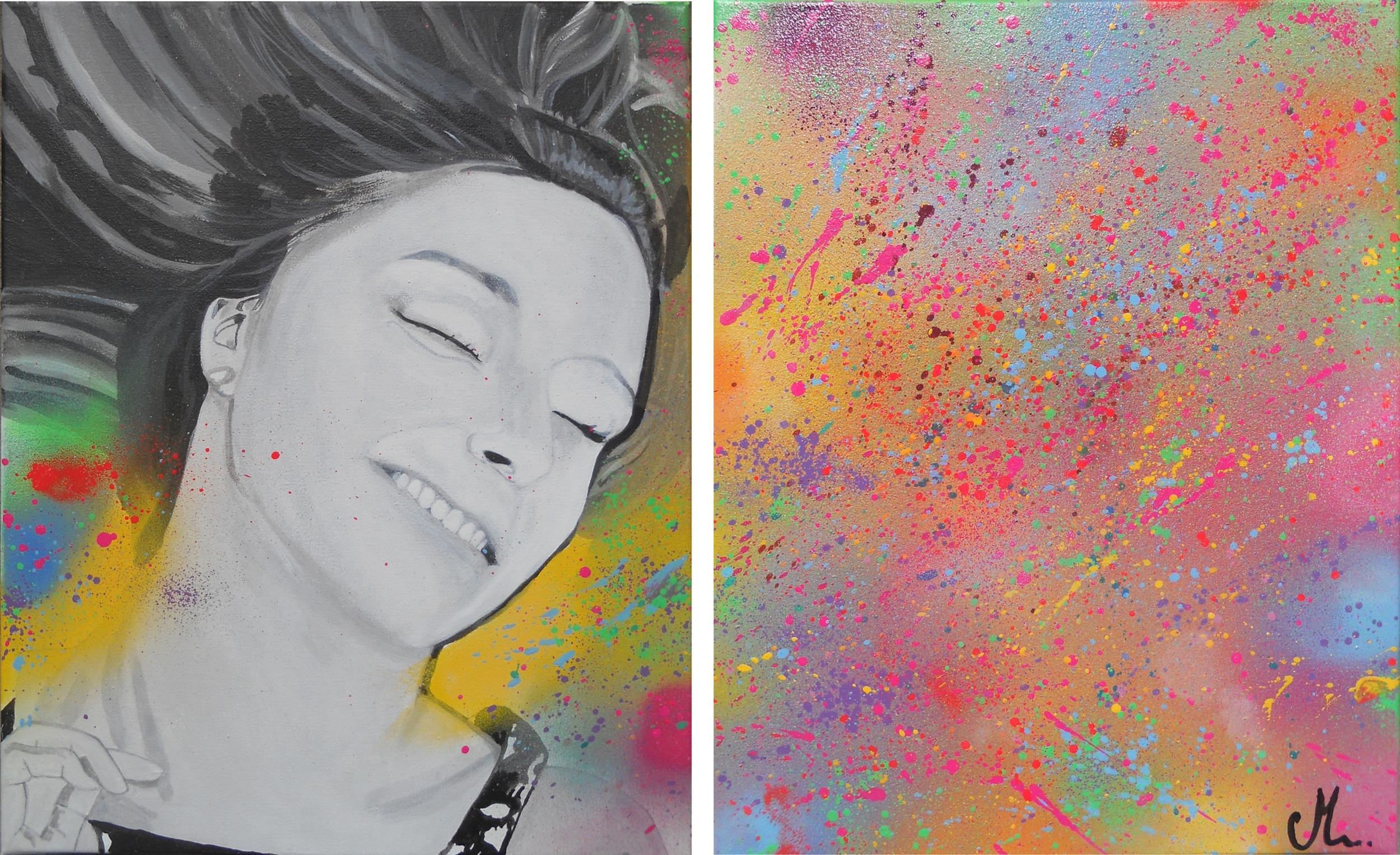 Joie bonheur amour tableau joy actualit s art et deco for Arts et decoration abonnement