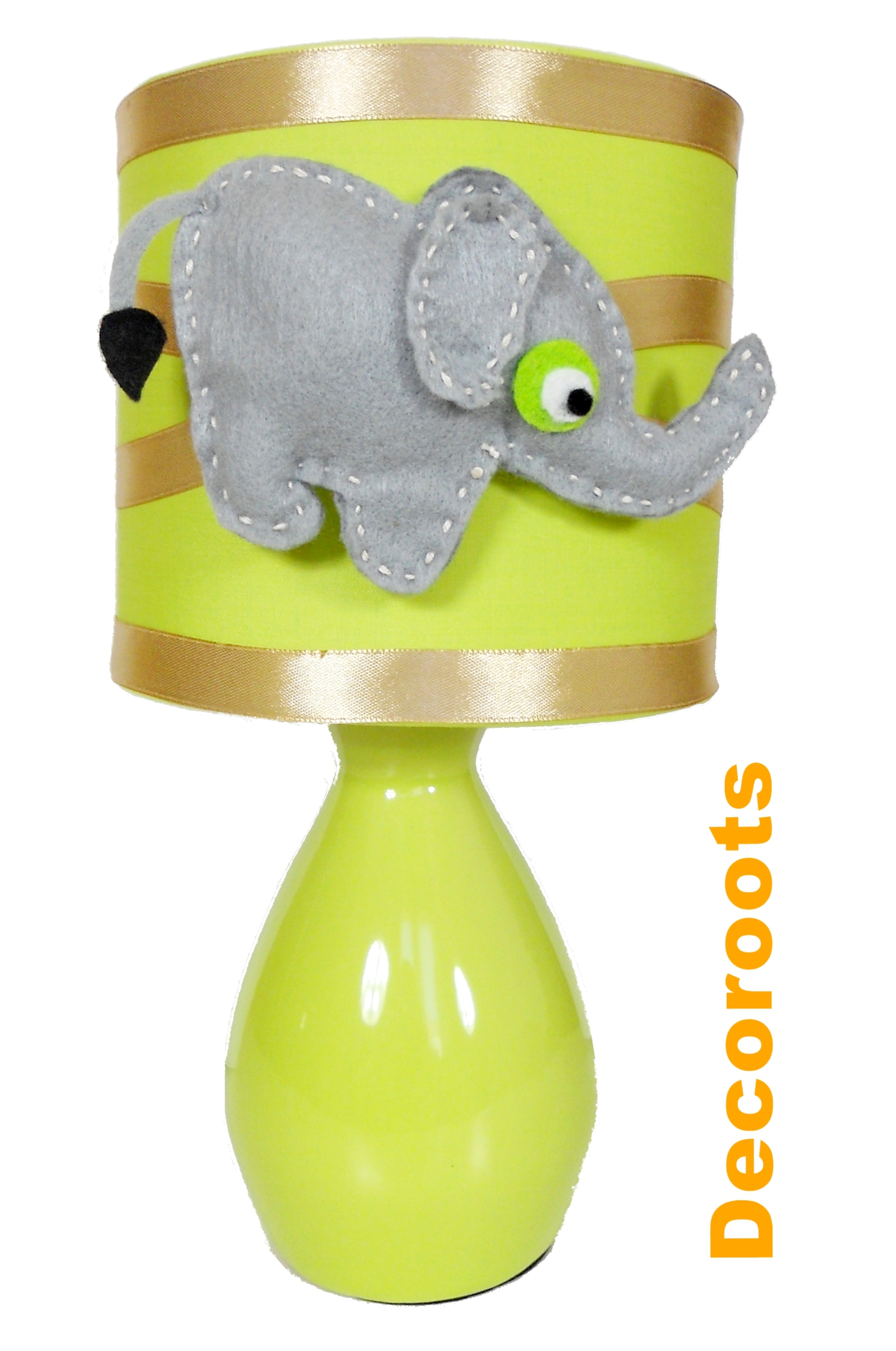 Lampe de chevet l phant collection jungle enfant b b for Lampes de chevet enfant