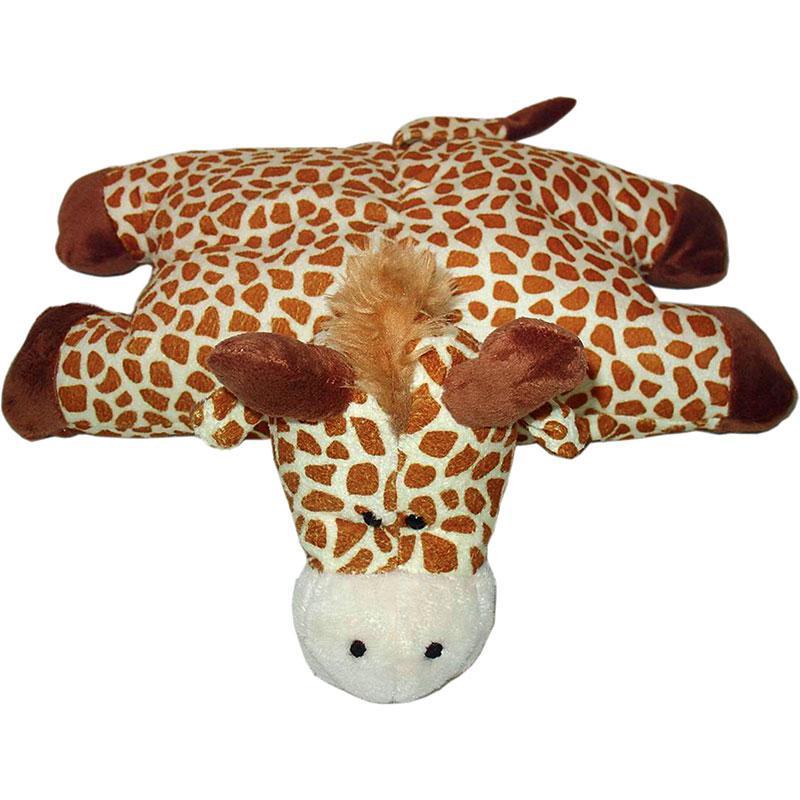 peluche coussin girafe objet décoratif enfant bébé thème jungle