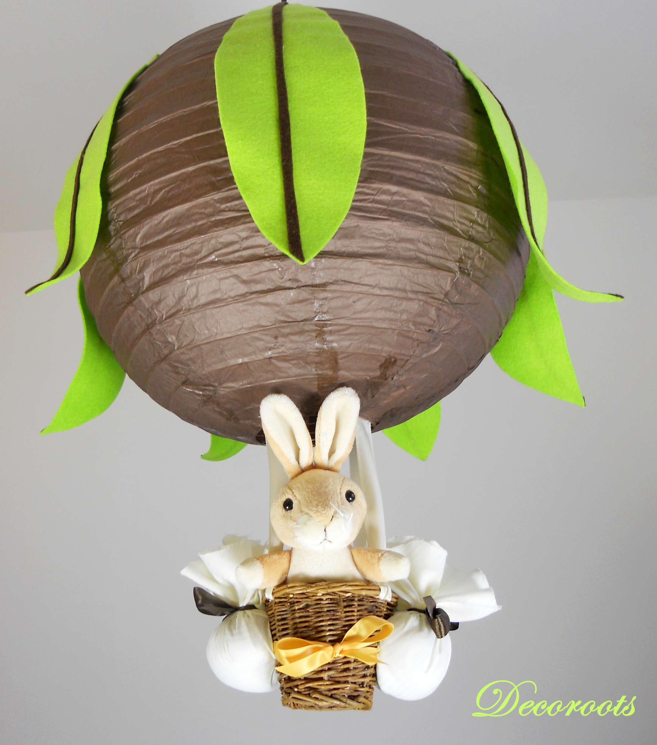 lampe lapin forêt