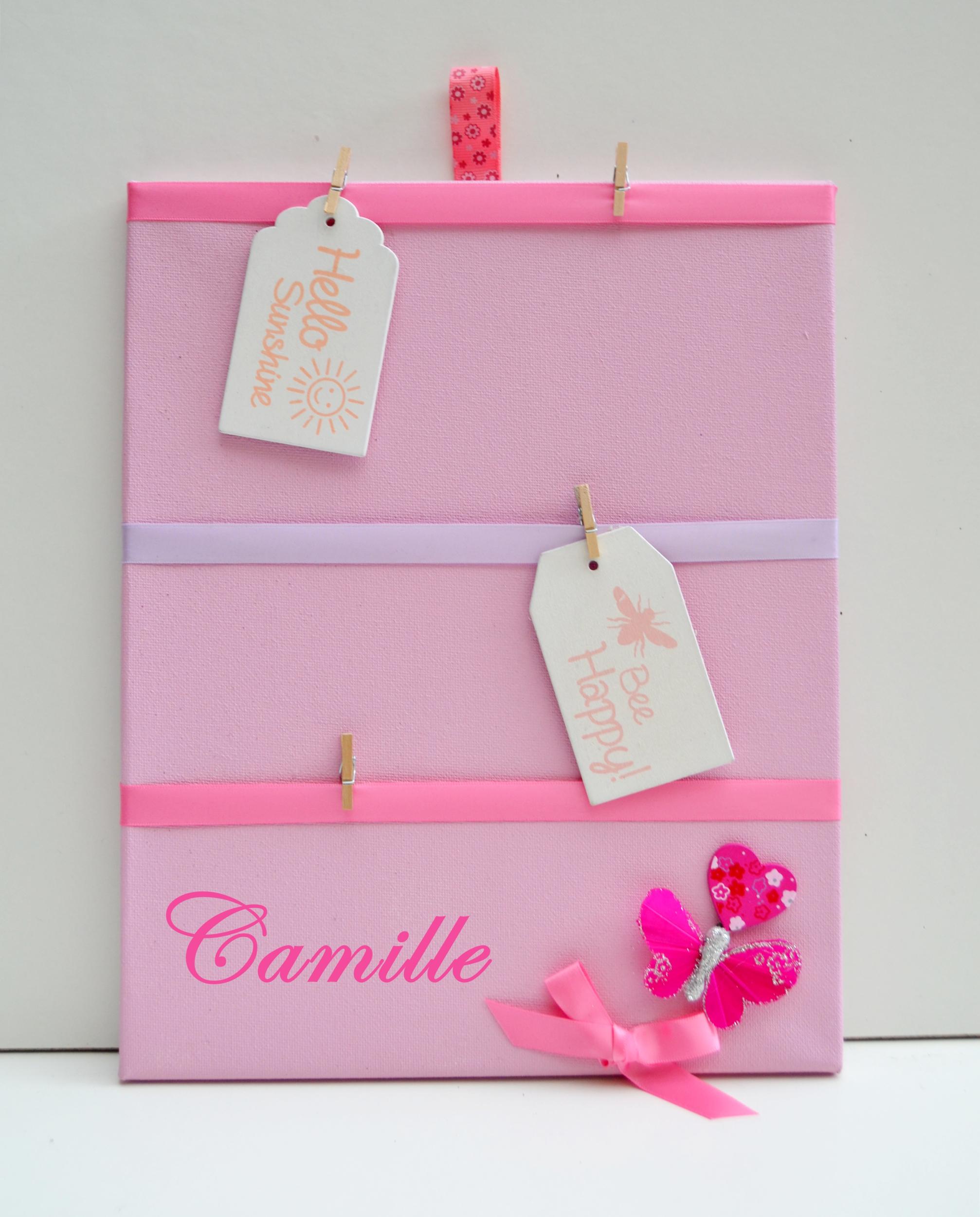 P Le M Le Fille Papillon Rose Enfant B B Objet