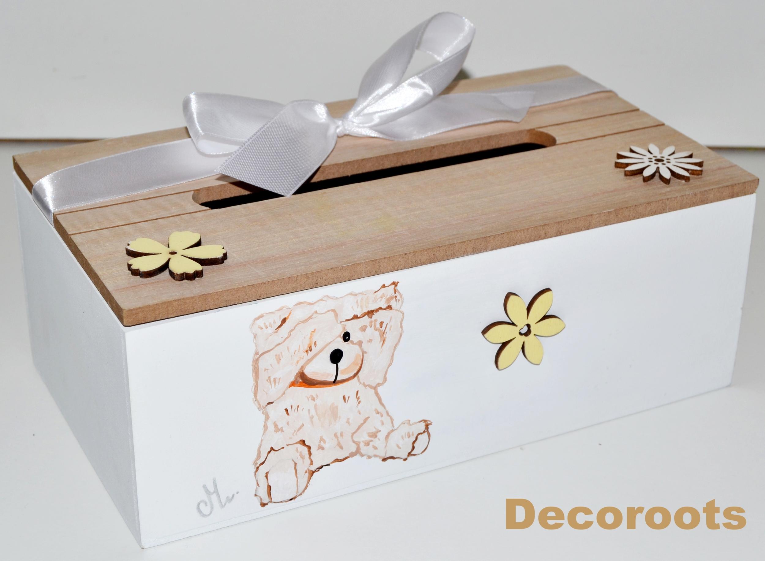 Urne bapt me communion ours cadeaux de naissance cadeaux - Decorer boite carton pour anniversaire ...