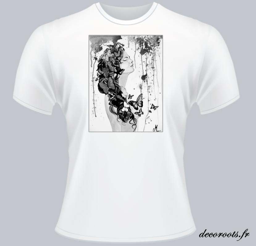 tee shirt femme decoroots