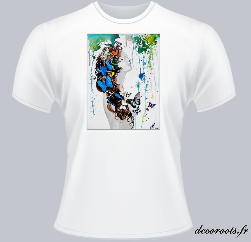 tee shirt sweet paradisecouleur