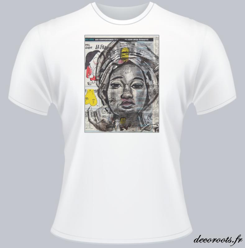tee shirt roots africa