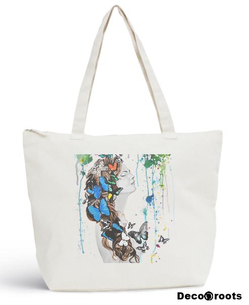 sac plage tote bag sweet paradise art