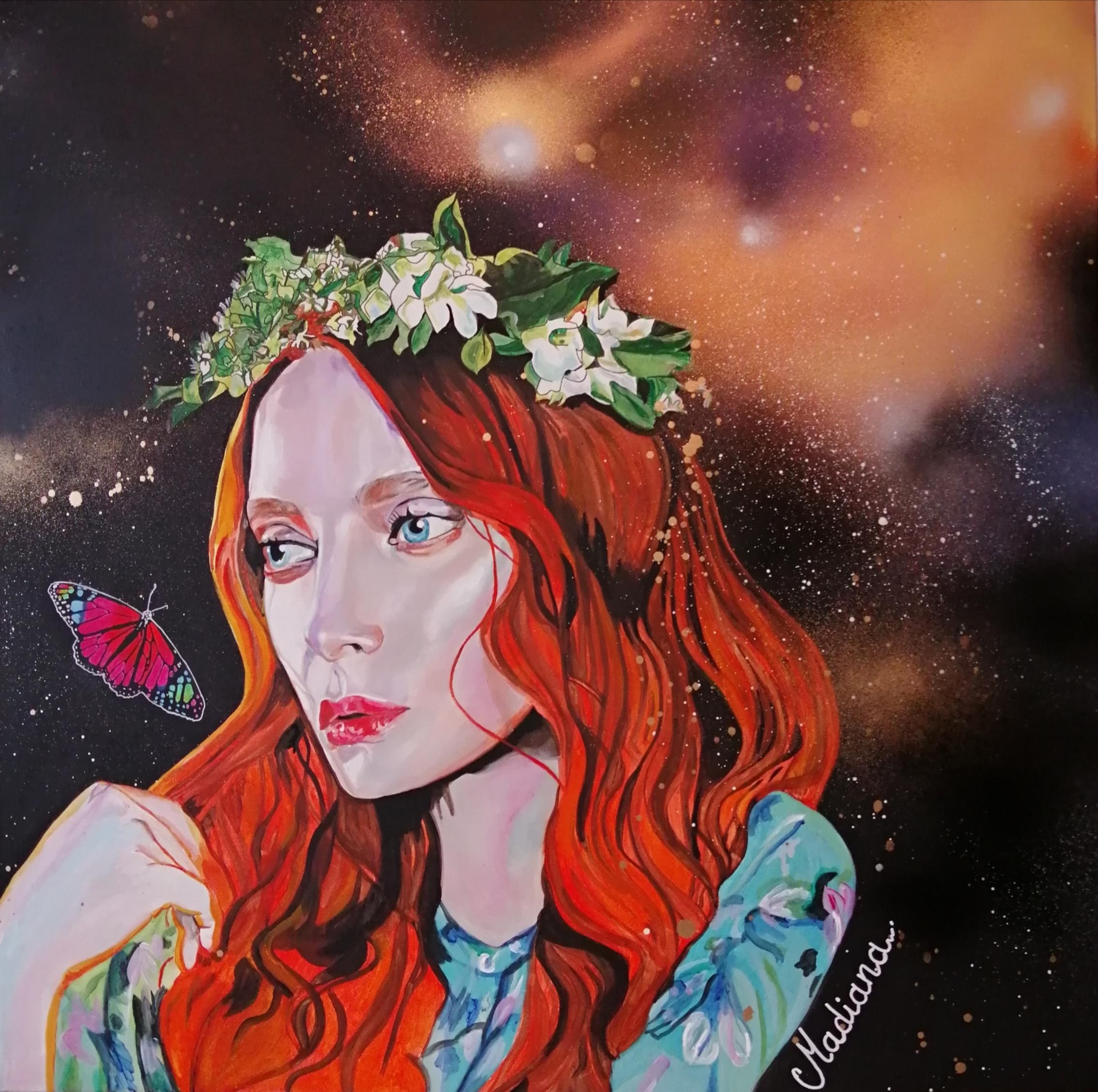 affiche reproduction poster art peintre l'effet papillon