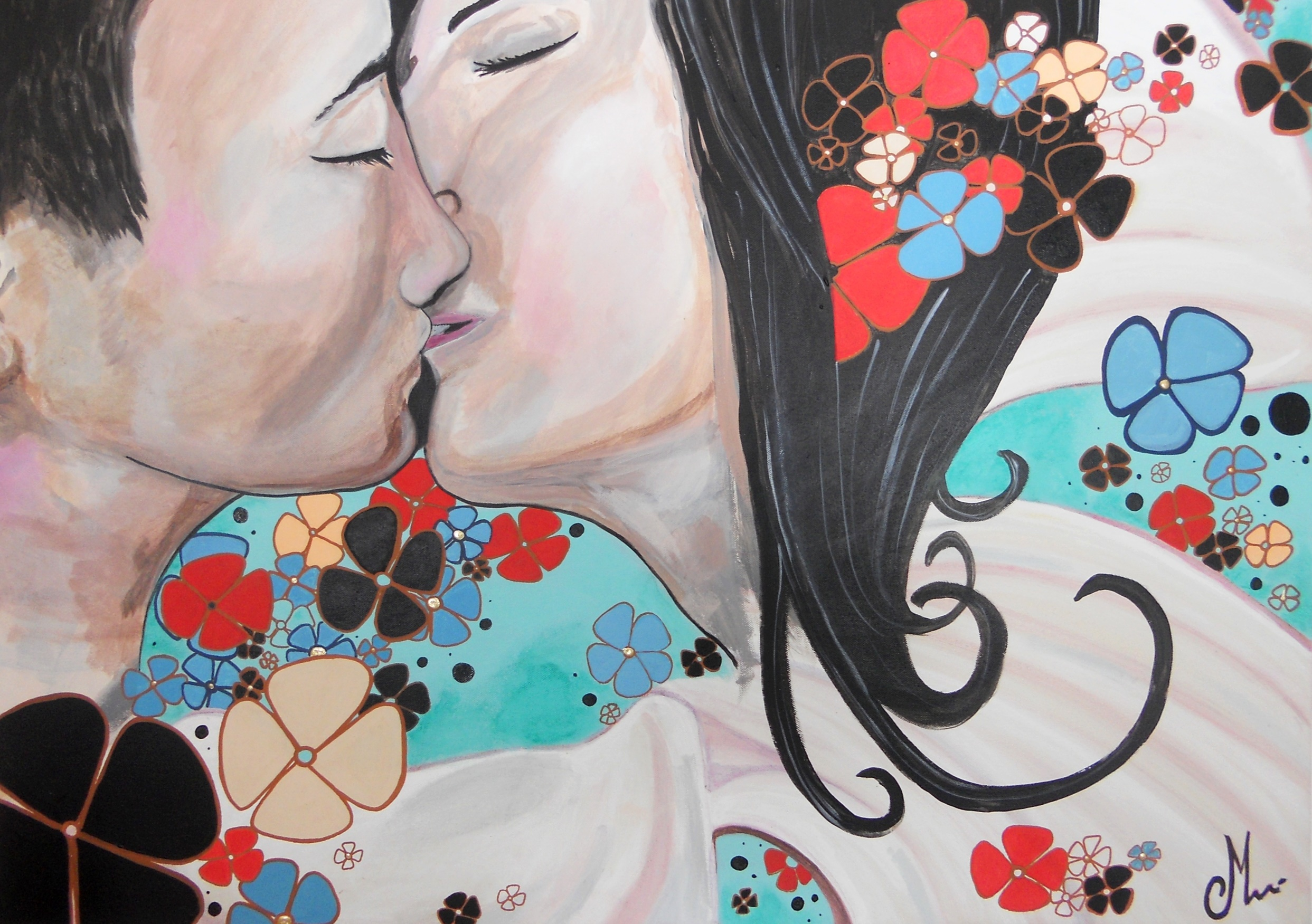 tableau baiser