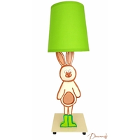 Lampe b b enfant fille collection bubble rose for Lampe de chevet lapin