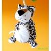 lustre suspension enfant bébé thème jungle avion vert et bleu léopard