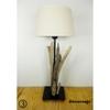 lampe de chevet bois flotté bord de mer 3