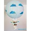 lampe montgolfière enfant bébé nuage mouton ciel turquoise