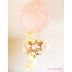 lampe enfant bébé montgolfière mouton rose