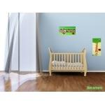 pêle mêle photo enfant bébé nature coccinelles trèfle vert anis vert forêt marron chocolat décoration 2
