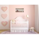 pêle mêle enfant bébé ours collection valentin beige marron chocolat taupe mixte ourson décoration 77 rose