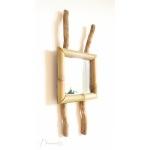 miroir nature zen bambou bois branches