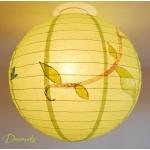 abat-jour enfant bébé vert marron chocolat bleu nature chouette hibou décoration lustre suspension papillon arbre 4