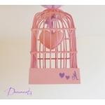lustre suspension abat-jour lampe luminaire coeur violet parme rose pastel chambre décoration fille zoom
