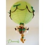 lampe montgolfière ours