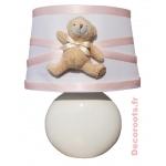 lampe de chevet ours fille