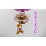 lampe montgolfière violet zoom