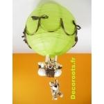 lampe montgolfière tigre chocolat