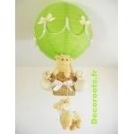 lampe montgolfière mouton animaux de la ferme