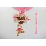 lampe montgolfière rose enfant zoom
