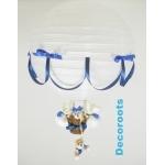 lampe montgolfière bleu
