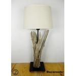 lampe de chevet bois flotté bord de mer 2