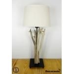 lampe de chevet bois flotté bord de mer