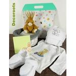 coffret cadeau naissance artisanal lapin