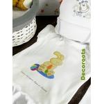 coffret cadeau naissance artisanal lapin personnalisable