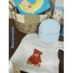 coffret naissance garçon ours bleu tableau personnalisable décoration