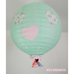 lustre oiseau coeur enfant