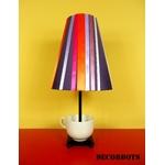 lampe de chevet design femme tasse prune multicolore 2