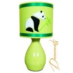 lampe de chevet enfant bébé panda vert anis 1