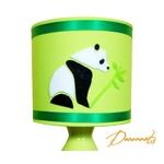 lampe de chevet enfant bébé panda vert anis