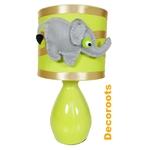 lampe de chevet enfant bébé jungle éléphant