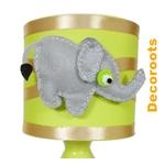 lampe de chevet enfant bébé jungle éléphant décoration