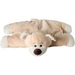 peluche coussin ours décoration enfant bébé thème objet décoratif