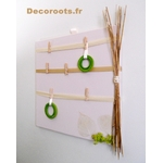 pele mele photo nature zen beige taupe vert anis bambou décoration