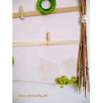pele mele nature zen beige taupe vert anis bambou pense bête