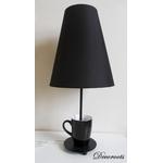 lampe de chevet design tasse noir