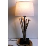 lampe bois flotté nature zen chevet
