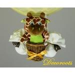 lampe montgolfière girafe décoration