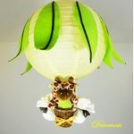 lampe montgolfière girafe