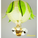 lampe enfant jaune vert anis