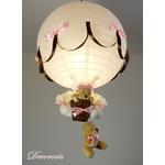 lampe enfant rose ours